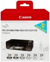 Картридж CANON PGI-29 MBK MULTIPACK для Pixma Pro 1 (матовый черный, фото-черный, темно-серый, серый, светло-серый, Chroma Optimiser)