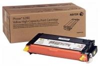 Оригинальный тонер-картридж Xerox 106R01402 (5900 стр., желтый)