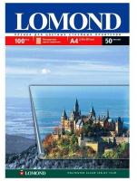 Пленка Lomond PET Ink Jet Film – прозрачная, А4, 100 мкм, 50 листов, для струйной цветной печати.
