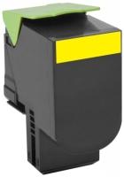 Оригинальный картридж Lexmark 80C8XYE(желтый, 4000 стр.)