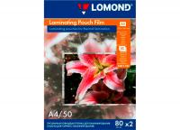 Пленка Lomond для ламинирования A4 (218x305мм), 80мкм, Матовая, 50 пакетов.