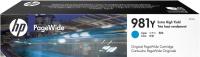 Картридж HP 981Y Cyan максимальной емкости
