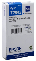 Картридж EPSON T7892 голубой экстраповышенной емкости для WF-5110DW/5620DWF