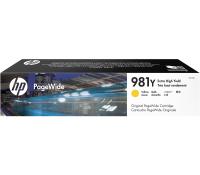 Картридж HP 981Y Yellow максимальной емкости