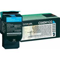 C540H1CG Тонер-Картридж Lexmark C540/C543/C544 2K Cиний