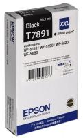 Картридж EPSON T7891 черный экстраповышенной емкости для WF-5110DW/5620DWF