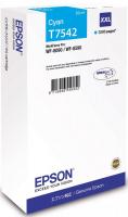 Картридж EPSON T7542 голубой экстраповышенной емкости для WF-8090/8590