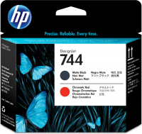 Печатающая головка HP 744 Designjet Matte Black/Red Printhead