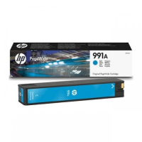 Картридж HP 991A Cyan Original PageWide Cartridge (M0J74AE)