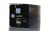 Оригинальный тонер-картридж HP CB436A (2000 стр., черный)