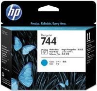 Печатающая головка HP 744 Designjet Photo Black/Cyan