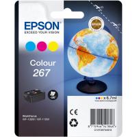Картридж Epson T267 цветной для WF-100