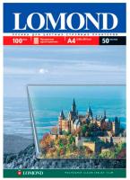 Пленка Lomond для цветного струйного принтера А4, (Водораст./пигмент) прозрачная, толщ. 135 мк.