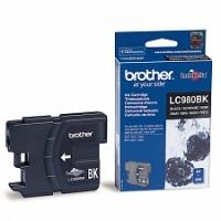 Оригинальный картридж BROTHER LC980BK (300 стр., черный)