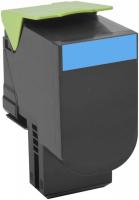 Оригинальный картридж Lexmark 80C8HC0(голубой, 3000 стр.)