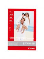 Фотобумага CANON Глянцевая, 200г/м2, A6, 100 л.