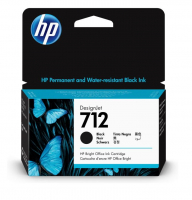 Картридж HP 712 струйный (38 мл., черный)