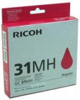 Оригинальный принт-картридж Ricoh тип GC 31MH (4000 стр., пурпурный)