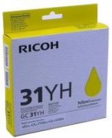 Оригинальный принт-картридж Ricoh тип GC 31YH (4000 стр., желтый)
