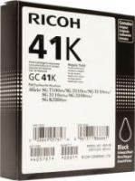 Оригинальный принт-картридж Ricoh тип GC 41K (2500 стр., черный)