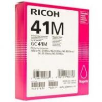 Оригинальный принт-картридж Ricoh тип GC 41M (2200 стр., пурпурный)