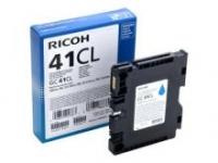 Оригинальный принт-картридж Ricoh тип GC 41СL (600 стр., голубой)