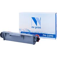 Совместимый картридж NV Print для Brother NV-TN3390T (12000 стр., черный)