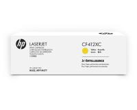 Оригинальный картридж HP CF412XC (410X) (желтый, 5000 стр.)