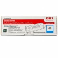Оригинальный тонер-картридж OKI C5650/5750 (2000 стр., синий)