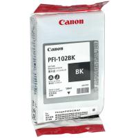 (Акция)Оригинальный картридж CANON PFI-102BK (130 мл., черный)