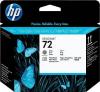 (Акция)Оригинальный картридж HP C9380A (серый + черный фото)