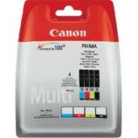 Оригинальный картридж CANON CLI-451 (350 стр., черный + голубой + пурпурный + желтый)