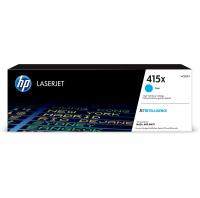 Оригинальный картридж HP 415X (W2031X) (6000 стр., голубой) для HP Color LaserJet Pro M454/Pro MFP MFP M479