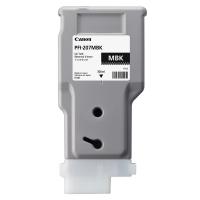 Оригинальный картридж CANON PFI-207MBK (300 мл., черный матовый)