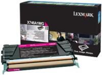 Оригинальный картридж Lexmark X746A1MG(пурпурный, 7000 стр.)
