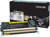 Оригинальный картридж Lexmark X746A1YG(желтый, 7000 стр.)