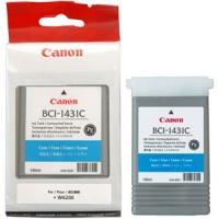 Оригинальный картридж CANON BCI-1431C (130 мл., голубой)