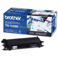 Оригинальный тонер-картридж Brother TN-135BK (5000 стр., черный)