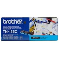Оригинальный тонер-картридж Brother TN-135C (4000 стр., голубой)