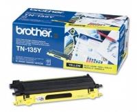 Оригинальный тонер-картридж Brother TN-135Y (4000 стр., желтый)