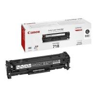 Оригинальный картридж Canon 718 Bk (3400 стр., черный)
