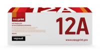 Картридж EasyPrint HP Q2612A/Canon 703/FX-10 (LH-12A U) (2000 стр., черный)
