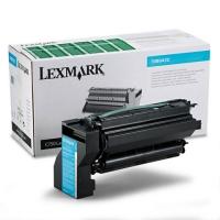 Оригинальный тонер-картридж Lexmark 10B042С (15000 стр., голубой)