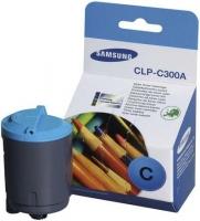 Оригинальный картридж Samsung CLP-C300A (1000 стр., голубой)