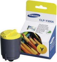 Оригинальный картридж Samsung CLP-Y300A (1000 стр., желтый)