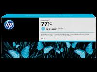 Оригинальный картридж HP B6Y12A (775 мл., светло-голубой)