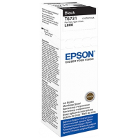 Контейнер EPSON T6731 с черными чернилами для L800