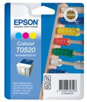 Оригинальный картридж EPSON T0520 (300 стр., цветной)