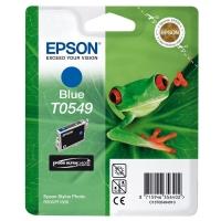Оригинальный картридж EPSON T0549 (400 стр., голубой)