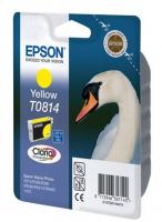 Оригинальный картридж EPSON T0814 (850 стр., желтый)